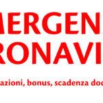 Emergenza coronavirus - bonus e agevolazioni