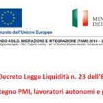 Mini guida al Decreto Legge Liquidità - progetto FIN-Finanza inclusiva