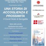 """Presentazione del libro: """"Una storia di accoglienza e prossimità: il Covid Hotel di Senigallia"""" a cura di Gabriele Pagliariccio e Giovanni Bomprezzi"""